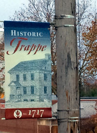 Historic Trappe banner