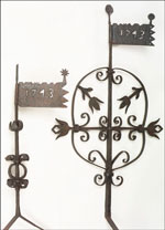 Old Trappe Church weathervanes